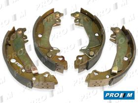Frenos/hidráulica M0193 - Juego de zapatas de freno sistema Bendix Bosch 228x40mm