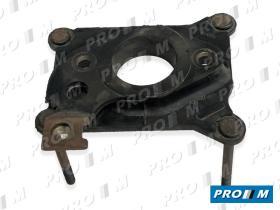 Caucho Metal 10216 - Fibra base de carburador 1 cuerpo Vw