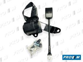 Accesorios 184031 - Cinturón de seguridad automático delantero con barra 310mm