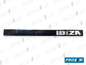 Seat Clásico 6K6853687JD - Anagrama Ibiza II portón banda negra lado derecho