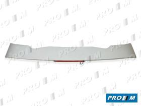 ALERONES ALEOV - Alerón blanco con luz de freno Opel Vectra 5 puertas