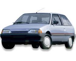 Citroën ->1995 PTAX - Paragolpes trasero Citroen AX